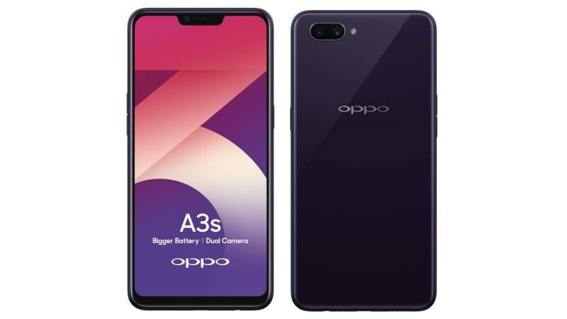 Oppo A3s के 3 जीबी रैम वेरिएंट की कीमत फिर हुई कम, जानें नया दाम