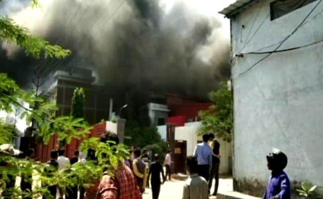Fire Breaks Out At Kanpur Ink Factory, People From Nearby Areas Evacuated