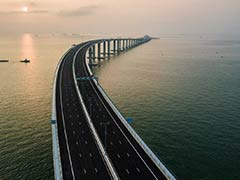 On China Mega Bridge, Alert Reportedly For Number Of Times Drivers Yawn