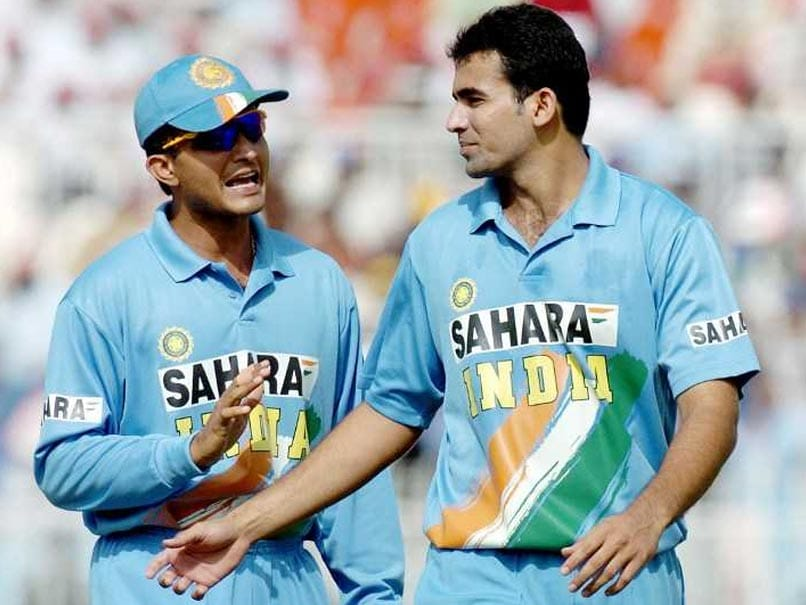 Sourav Ganguly Wishes Zaheer On His Birthday, Makes A Special Request