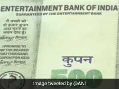 "Fake ""Entertainment Bank Of India"" Cash Used To Buy Gold Worth Rs 2 Lakh"