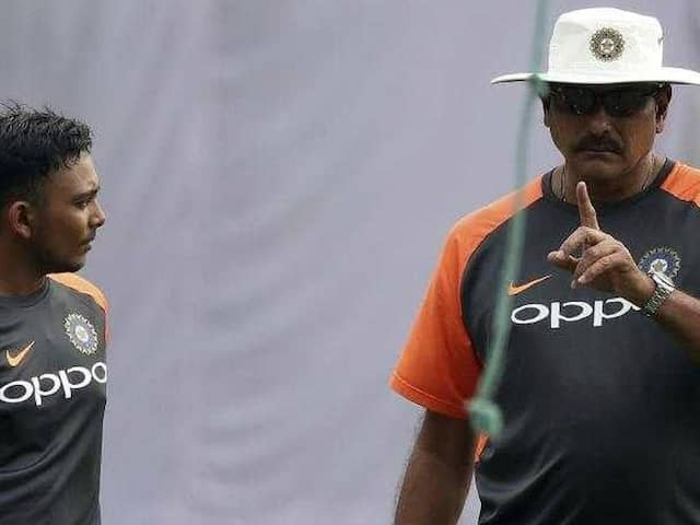 IND vs WI: Coach Ravi Shastri found bit of three legend in Prithvi Shaw