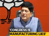 Video : Rahul Gandhi Is A Serial Liar, Says BJP