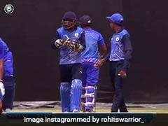 रोहित शर्मा का आशीर्वाद लेने पहुंच गया फैन, उठाकर किया ऐसा, वायरल हुआ VIDEO