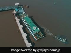 Gujarat Chief Minister Inaugurates Ghogha-Dahej 'Ro-Pax' Ferry Service