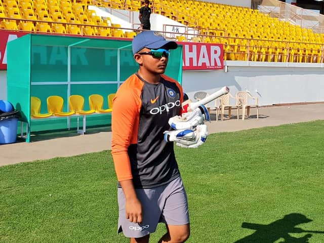 IND vs WI: young Prithvi Shaw achieves big with man of the Series