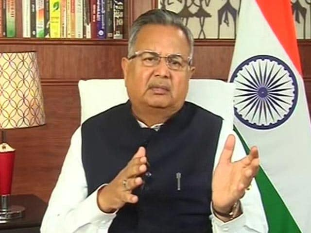 Video : Raman Singh Confident Of Declaring Chhattisgarh ODF By October 2019