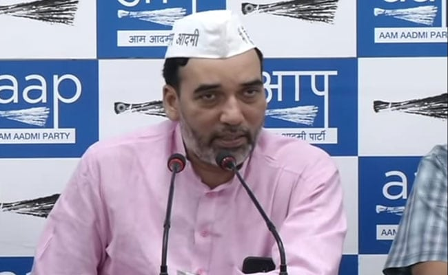 'I Love Kejriwal' Campaign Is A Big Hit, Says AAP Leader Gopal Rai