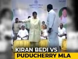 "Video : ""Is Kiran Bedi Princess In Puducherry?"" Asks Lawmaker After Spat On Stage"