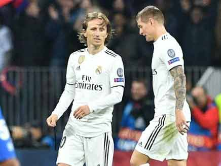 Real Madrid Slip To Shock Defeat By CSKA After Toni Kroos Mistake ... 82cdb0781d8
