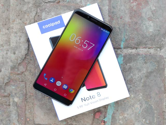 Coolpad Note 8 Unboxing And First Look
