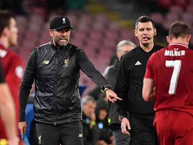 """We Werent Good Enough,"" Says Jurgen Klopp As Napoli Bury Liverpool"
