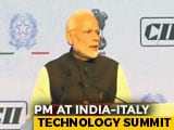 Video : Technology Enables Ease Of Living, PM Modi Says At India-Italy Summit