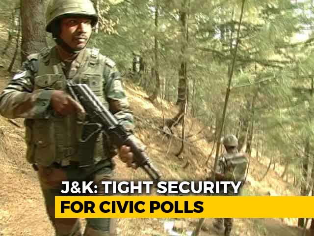 Video : Amid Terror Threat, Jammu And Kashmir Prepares For October 8 Polls