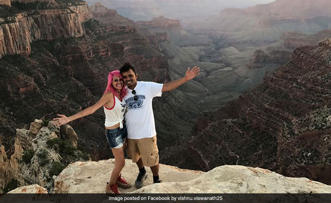 Couple who died at 'perfect photo' spot named as travel bloggers