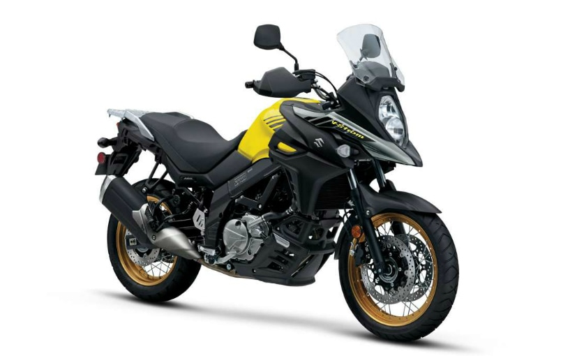 suzuki v strom 650xt abs launched at rs lakh ndtv. Black Bedroom Furniture Sets. Home Design Ideas