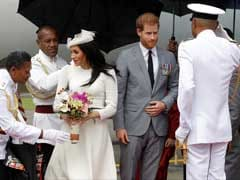 Royals Prince Harry And Meghan Arrive In Fiji, First Visit Since 2006 Coup