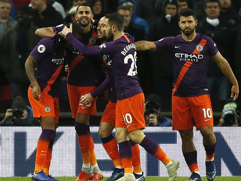 Premier League: Manchester City Win Pitch Battle As Riyad Mahrez Sinks Tottenham