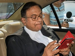P Chidambaram Appears Before Probe Agency In INX Media Case