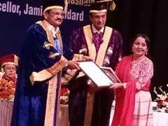 जेएमआई की शिक्षिका सईदा बेगम महिला वैज्ञानिक पुरस्कार से सम्मानित