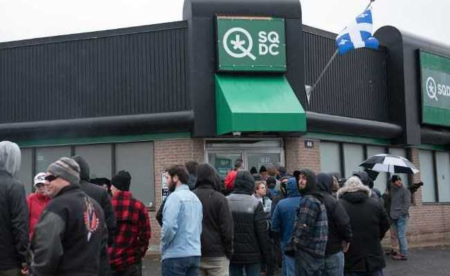 2 Days After Legalisation, Canada Pot Stores Run Out Of Supplies