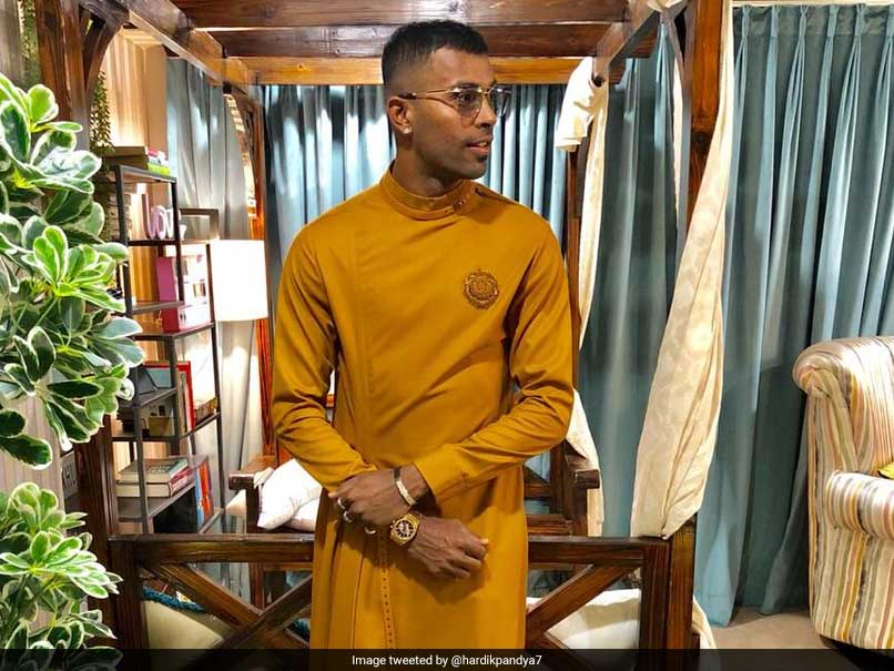 Hardik Pandya Shows Off His 'Bentley' On 25th Birthday
