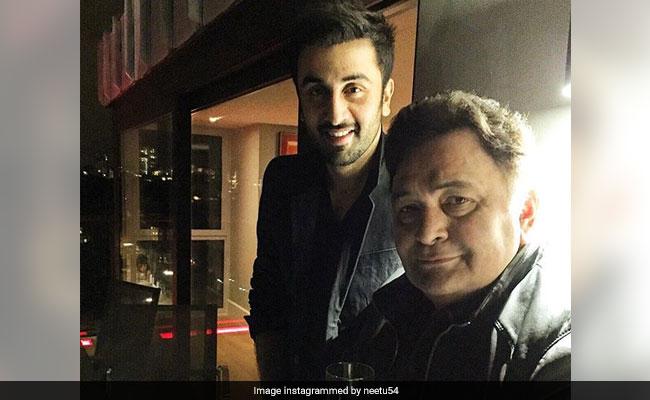 Ranbir And Rishi Kapoor In Neetu's 'Role Reversal' Pic Will Make You All Emo