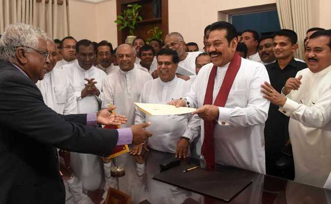 Mahinda Rajapaksa Takes Over As Sri Lanka's Prime Minister