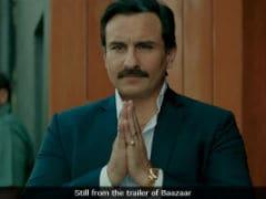 Today's Big release: Saif Ali Khan And Rohan Mehra's <i>Baazaar</i>