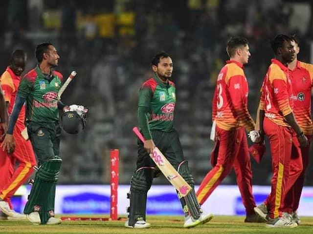Bangladesh Seal Series With Big Win Against Zimbabwe