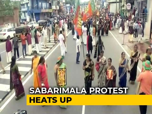 Video : Ahead Of Sabarimala Temple Opening, Big Protests, Plans To Stop Women