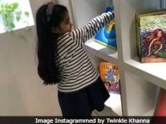 Twinkle Khanna's Daughter Nitara Is A True 'Bookaholic,' Just Like Her Mother. Here's Proof