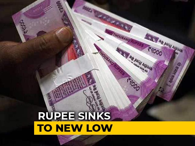 Video : Rupee Sinks To New Low Of 74.45 Against US Dollar