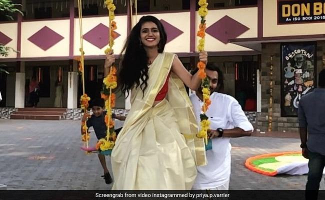 Priya Prakash Varrier: जादुई मुस्कान संग झूले पर दिखीं प्रिया प्रकाश वारियर, फैन्स बोले- झक्कास.. देखें Video