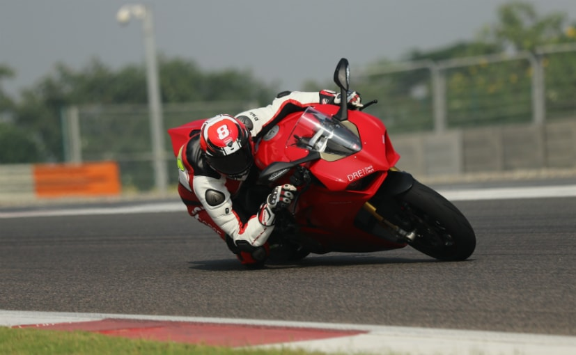 Alessandro Valia set a new track record at the Buddh International Circuit