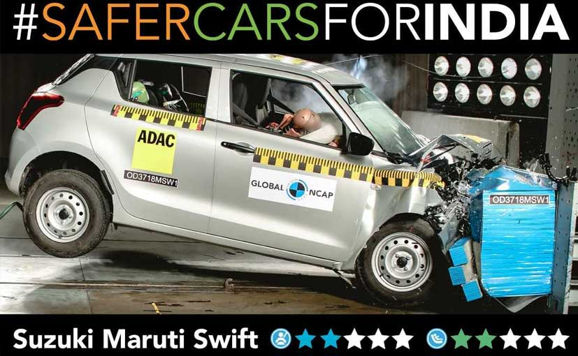 The made-in-India Swift gets a lot less safety features in comparison to the European model