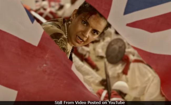 Manikarnika: The Queen Of Jhansi Teaser - Kangana Ranaut Defines One-Man Army. She's Brilliant As Rani Laxmi Bai