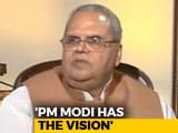 Video : PM Modi Best For Kashmir: Governor Satya Pal Malik