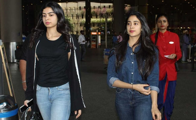 How To Nail The Denim On Denim Trend Like Janhvi Kapoor