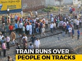 Video : 61 Dead As Train Hits Crowd Watching Ravan-Burning In Punjab