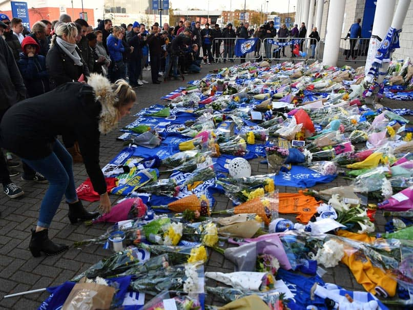 Fans In Shock After Leicester City Helicopter Crash
