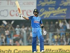 India vs West Indies, 1st ODI: Virat Kohli Brings Up His 36th ODI Century In Guwahati