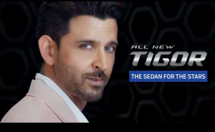 Tata has signed in Bollywood actor Hrithik Roshan as the brand ambassador for the updated Tata Tigor