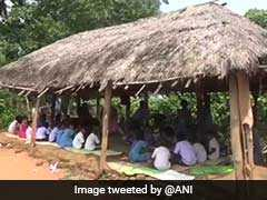 School Land In 'Dispute', Students Forced To Study In A Hut In Odisha