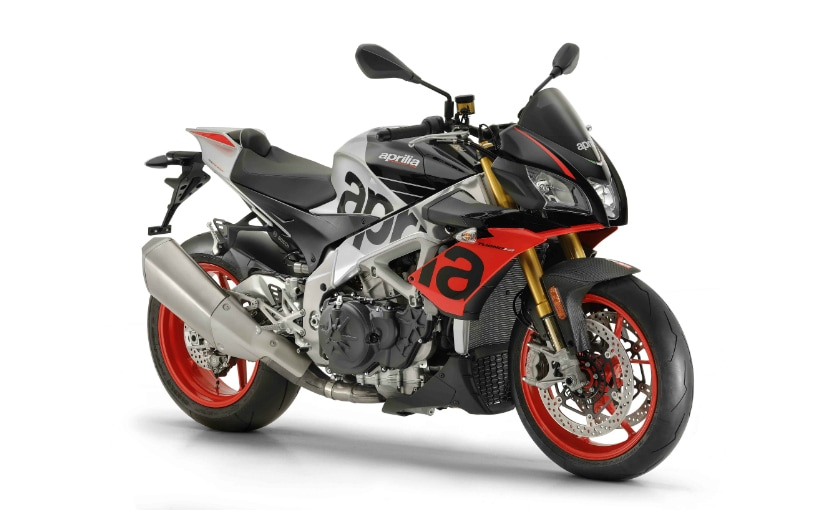 The Aprilia Tuono V4 1100 Factory gets semi-active Ohlins suspension