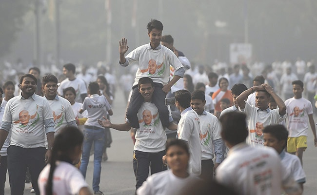 BJP Workers Clash At 'Run For Unity' Event In South Delhi