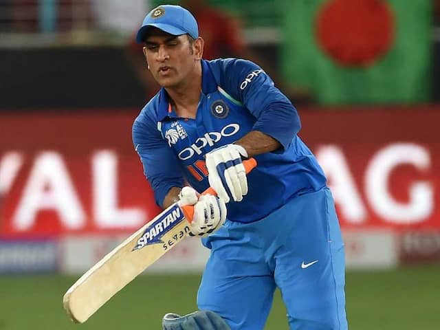 MS Dhoni rested for West Indies and Australia T20 series