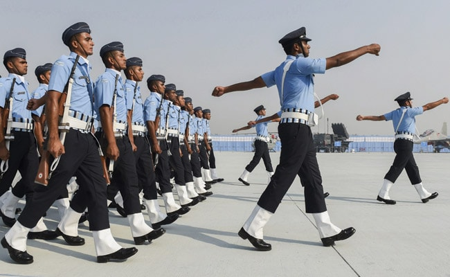 Vintage Fighter Steals Show On Air Force Day, PM Hails 'Warriors'