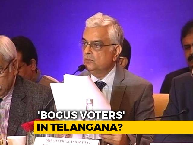 Video : Purified Electoral Rolls: Poll Body Chief On Deleting Telangana Voters
