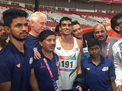 पैरा-एशियाई खेल: हाई जंप में शरद ने जीता गोल्ड, तीनों पदकों पर भारत ने जमाया कब्जा